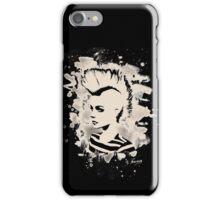 Punk Girl – bleached - white iPhone Case/Skin