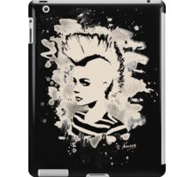 Punk Girl – bleached - white iPad Case/Skin