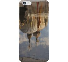 "Acqua Alta or ""High Water"" Reflects St Mark's Cathedral in Venice iPhone Case/Skin"