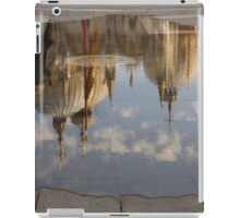 """Acqua Alta or """"High Water"""" Reflects St Mark's Cathedral in Venice iPad Case/Skin"""