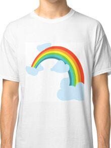 RAINBOW WITH CLOUDS Classic T-Shirt