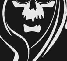 Death hooded sunglasses Sticker