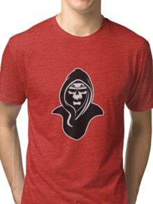 Death hooded sunglasses Tri-blend T-Shirt