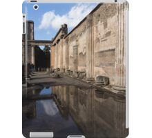 Reflecting on Pompeii iPad Case/Skin