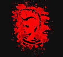 Punk Girl – bleached red Unisex T-Shirt