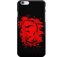 Punk Girl – bleached red iPhone Case/Skin