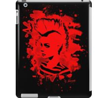 Punk Girl – bleached red iPad Case/Skin