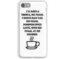 No foam! iPhone Case/Skin
