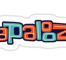 lollapalooza music festival Sticker