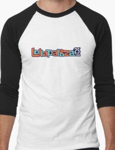 lollapalooza music festival Men's Baseball ¾ T-Shirt