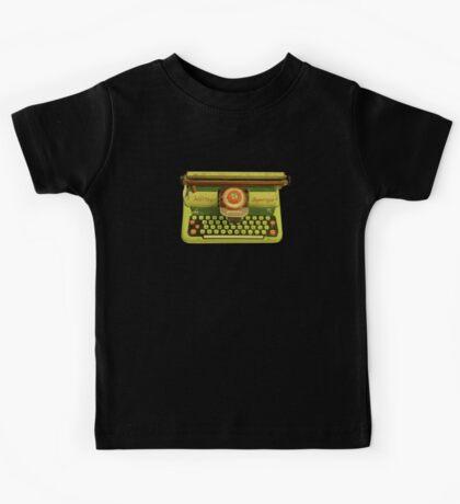 Vintage Tin Mettoy Supertype  Antique Typewriter 1960's Kids Tee