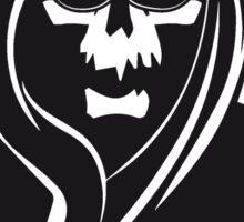 Death hooded sunglasses Sticker