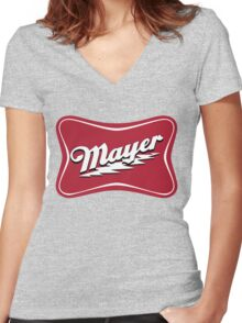 Johnny High Life Women's Fitted V-Neck T-Shirt