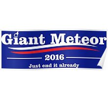 giant meteor 2016 Poster
