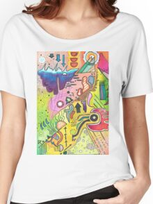 Abstract 360 Women's Relaxed Fit T-Shirt