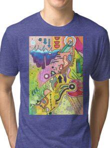 Abstract 360 Tri-blend T-Shirt