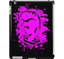 Punk Girl – bleached pink iPad Case/Skin