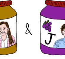 Pam Beesley and Jim Halpert Sticker