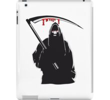 Death hooded sense iPad Case/Skin