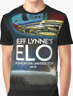 ELO - ALONE IN THE UNIVERSE TOUR 2016 - JEF LYNNES'S Graphic T-Shirt