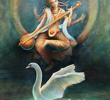 Saraswati by Katia Honour
