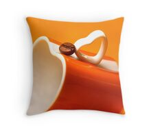 Espresso Passionated's Pillow Throw Pillow