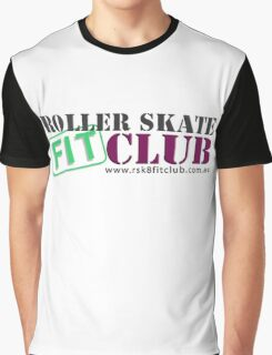 Roller Skate Fit Club Graphic T-Shirt