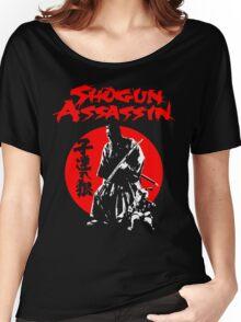 LONEWOLF AND CUB AKA SHOGUN ASSASSIN SHINTARO KATSU JAPANESE CLASSIC SAMURAI MOVIE  Women's Relaxed Fit T-Shirt