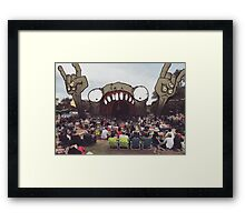 Let There Be Rock... Framed Print