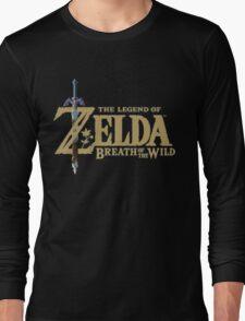 The Legend of Zelda: Breath of the Wild Logo Long Sleeve T-Shirt