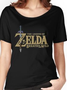 The Legend of Zelda: Breath of the Wild Logo Women's Relaxed Fit T-Shirt
