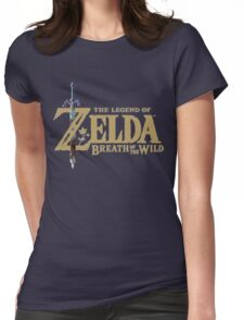 The Legend of Zelda: Breath of the Wild Logo Womens Fitted T-Shirt