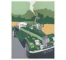 Morgan Motorcar Photographic Print