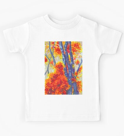 Blue Trees Kids Tee