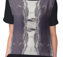 Rocky Perspective Chiffon Top