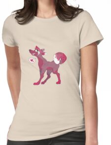 Lovely Wolf Womens Fitted T-Shirt