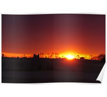 Another Country Sunrise Poster