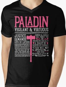 PALADIN Mens V-Neck T-Shirt