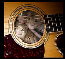 'The 3 Mouseguitars' by Matterotica