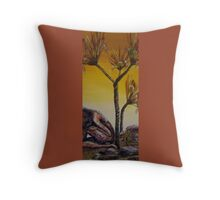 To be One With - Understanding Camouflage Throw Pillow