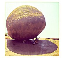 Butter Ball, India Photographic Print