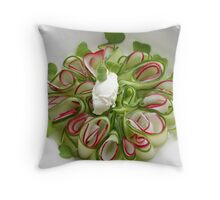 Bavarian Carpaccio Pillow III Throw Pillow