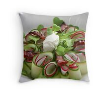 Bavarian Carpaccio Pillow II Throw Pillow