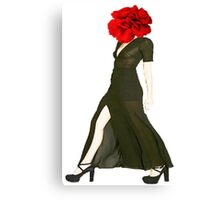 The Woman Canvas Print