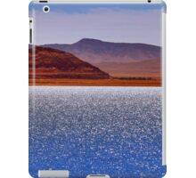 Pyramid Lake in the Wind iPad Case/Skin