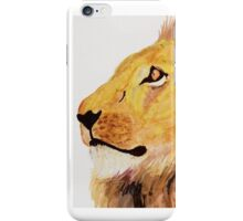 Portrait of a Lion iPhone Case/Skin