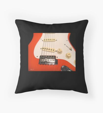 Fiesta Red Throw Pillow