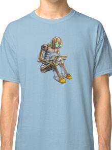 Reading robot Classic T-Shirt
