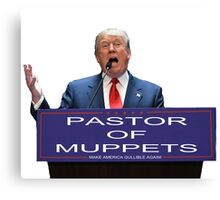 Pastor of Muppets Canvas Print