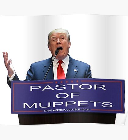 Pastor of Muppets Poster